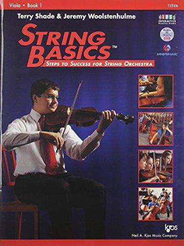 115VA - String Basics: Steps to Success for String Orchestra Viola Book 1 9780849734847 String Basics: Steps to Success for String Orchestra is a comprehensive method for beginning string classes. Utilizing technical exercis