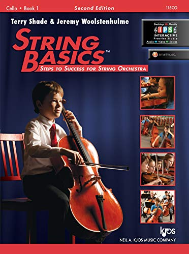 115CO - String Basics: Steps to Success for String Orchestra Cello Book 1 9780849734854 String Basics: Steps to Success for String Orchestra is a comprehensive method for beginning string classes. Utilizing technical exercis