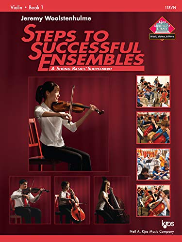 118VN - Steps to Successful Ensembles Book 1 - Violin: Jeremy Woolstenhulme