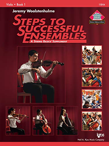 9780849734960: 118VA - Steps to Successful Ensembles Book 1 - Viola