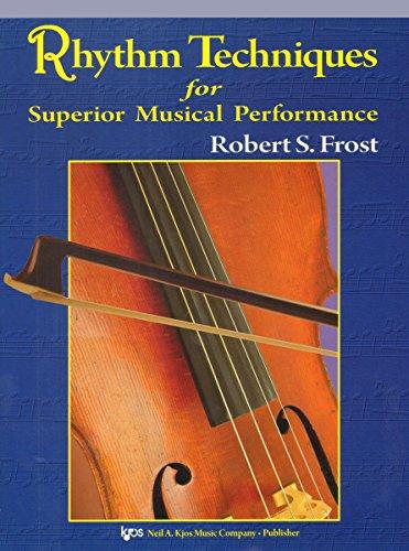 9780849735035: 126SB - Rhythm Techniques for Superior Musical Performance - String Bass