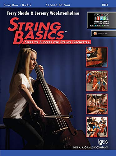116SB - String Basics Book 2 - String Bass 9780849735080 String Basics: Steps to Success for String Orchestra is a comprehensive method for beginning string classes. Utilizing technical exercis