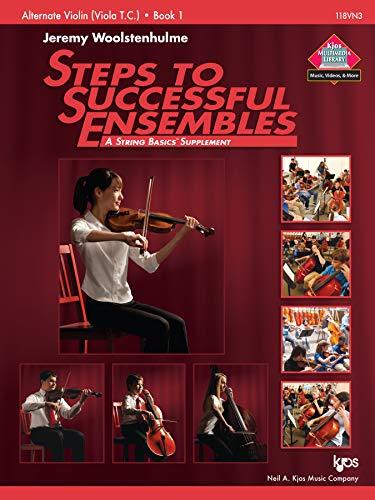 9780849735103: 118VN3 - Steps to Successful Ensembles Book 1 - Alternate Violin (Viola T.C.)
