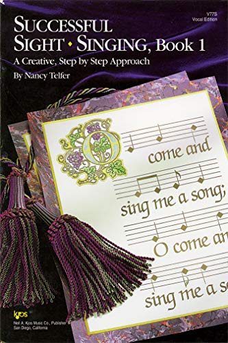 9780849741678: V77S - Successful Sight Singing - Book 1 - Teacher's Edition