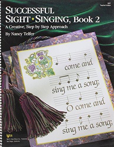 9780849741722: V82T - Successful Sight Singing - Book 2 - Teacher's Edition