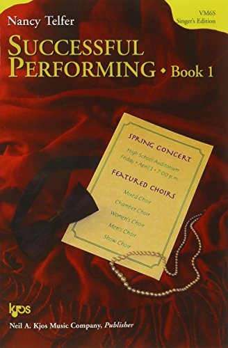 9780849742064: VM6S - Successful Performing: Singer's Edition