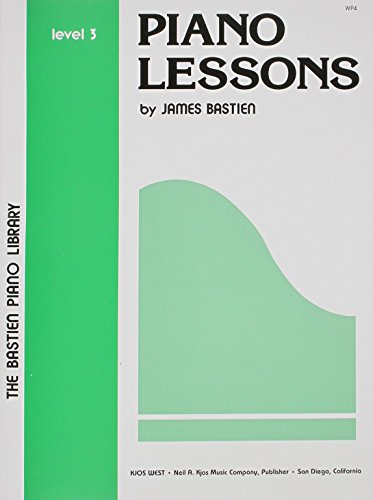 WP4 - Bastien Piano Library Piano Lessons: James Bastien