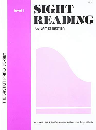 9780849750151: Sight Reading, Level 1 (The Bastien Piano Library)
