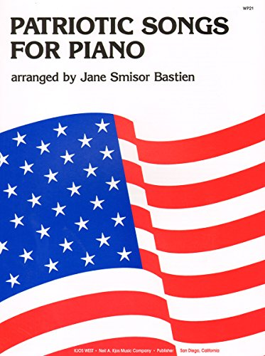 9780849750205: WP21 - Patriotic Songs For Piano