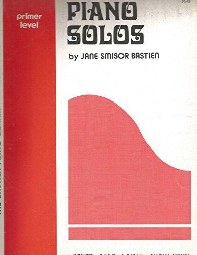 9780849750212: Bastien Piano Library: Piano Solos Primer Level - Partituras