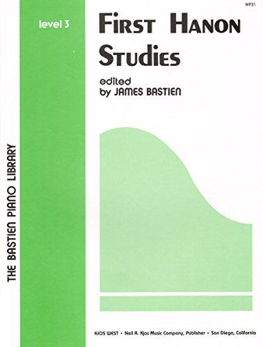 9780849750281: WP 31 - First Hanon Studies - Level 3
