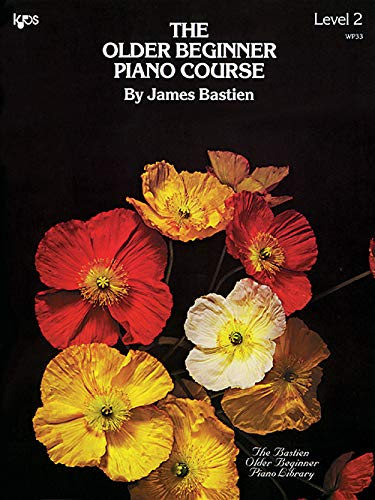 The older beginner piano course V.2