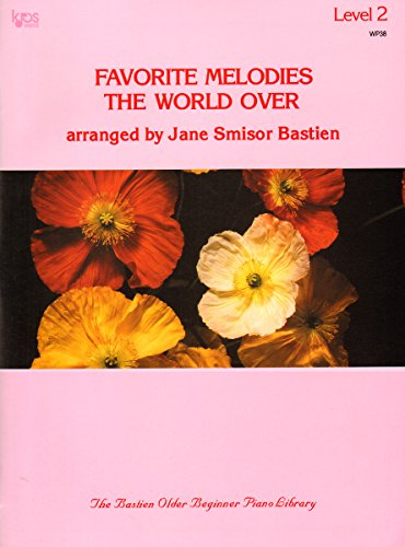 9780849750359: Favorite Melodies the World Over - Level 2