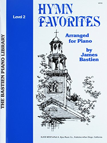 9780849750403: Hymn Favorites (The Bastien Piano Library, Level 2)