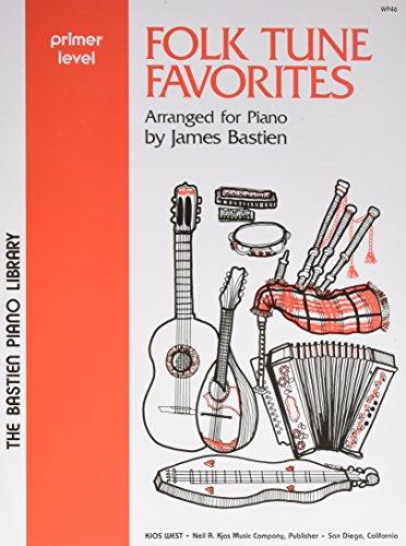 9780849750694: WP46 - Folk Tune Favorites - Bastien Piano Library - Primer Level
