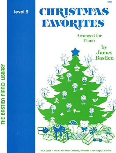 9780849750731: Christmas Favorites Level 2 (The Bastien Piano Library)
