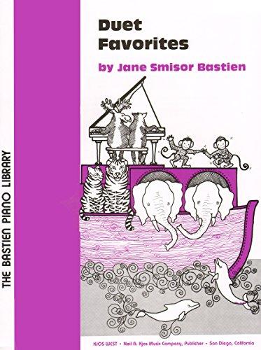 9780849750915: WP60 - Bastien Piano Library - Duet Favorites - Level 1