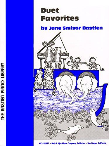 9780849750922: WP61 - Bastien Piano Library - Duet Favorites - Level 2