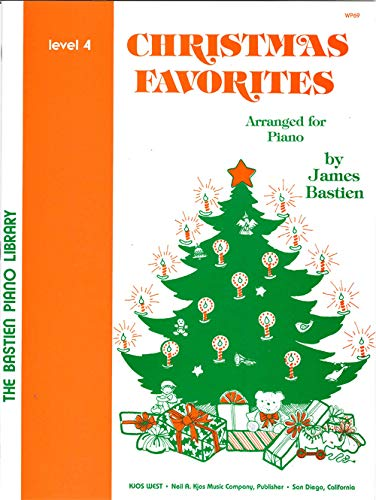 9780849751264: Christmas Favorites Level 4 - Bastien Piano Library