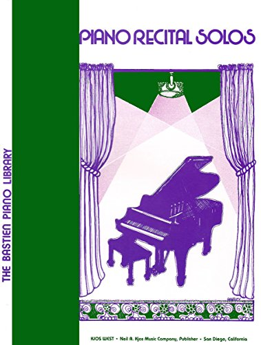 9780849751332: WP77 - Piano Recital Solos - Level 3 - Bastien