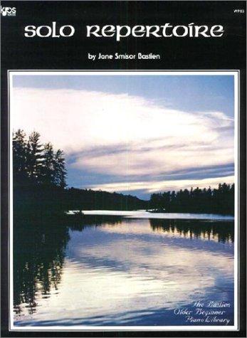 9780849751721: Jane Smisor Bastien: Solo Repertoire