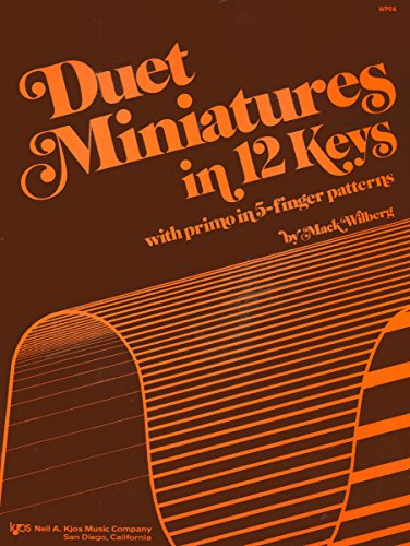 9780849752056: WP94 - Duet Miniatures in 12 Keys - Wilberg