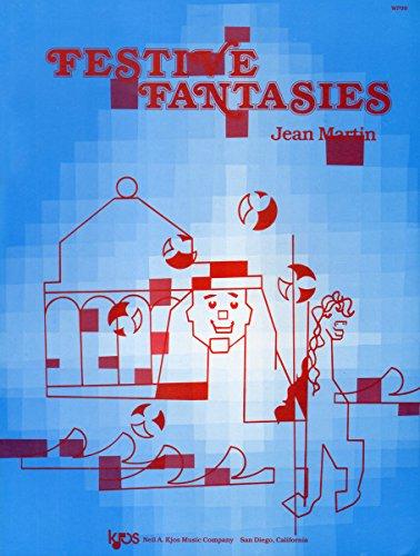 Festive Fantasies for Piano - Piano Solo: Jean Martin