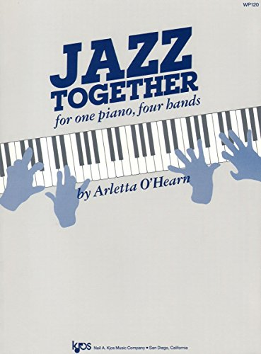 9780849752308: WP120 - Jazz Together for one piano, four hands