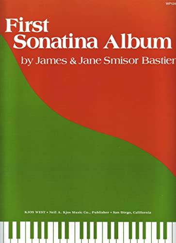 9780849752421: James And Jane Bastien: First Sonatina Album
