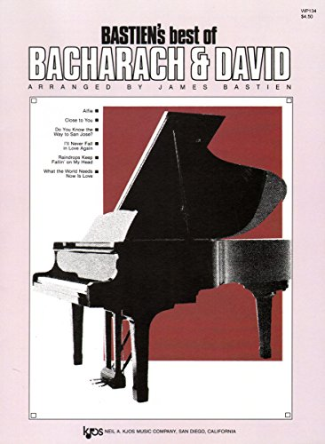 9780849752506: WP134 - Best of Bacharach and David - Bastien