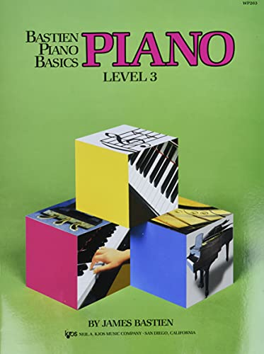 Piano level 3: Bastien, James