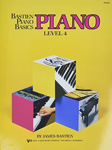 9780849752698: Bastien Piano Basics: Level 4