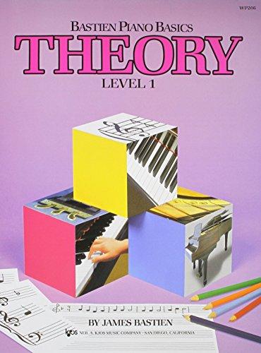 9780849752728: WP206 - Bastien Piano Basics - Theory Level 1