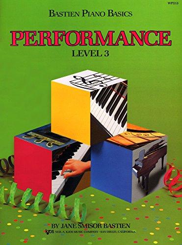9780849752773: WP213 - Bastien Piano Basics - Performance Level 3