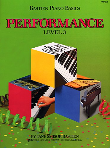 9780849752773: Bastien Piano Basics: Level 3: Performance Level 3