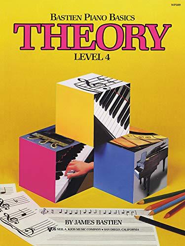 9780849752780: Bastien Piano Basics Theory Level 4