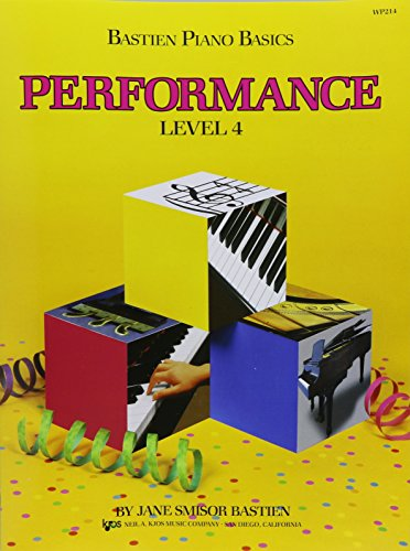 9780849752797: WP214 - Bastien Piano Basics - Performance Level 4