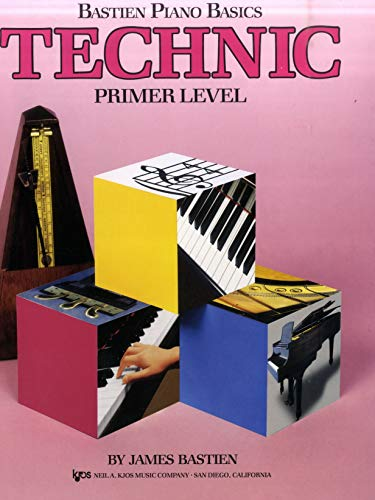 Bastien Piano Basics - Technic - Primer: James Bastien, Jane