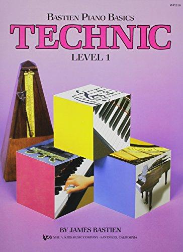9780849752810: WP216 - Bastien Piano Basics - Technic Level 1 (Level 1/Bastien Piano Basics Wp216)