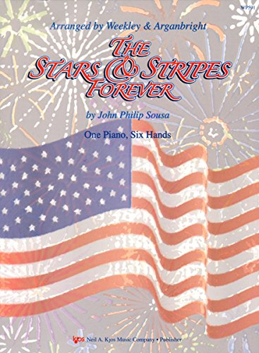 9780849754555: WP591 - Stars & Stripes Forever - 1 Piano 6 Hands