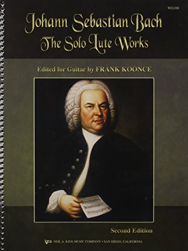 9780849755019: WG100 - The Solo Lute Works of Johann Sebastian Bach for Guitar