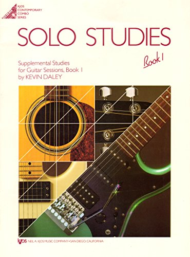 Solo Studies Book 1 for Guitar Sessions (Kjos Contemporary Combo Series)
