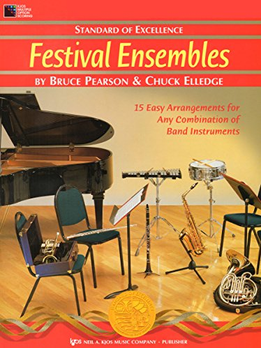 W27PG - Standard of Excellence - Festival Ensembles - Piano/Guitar Accompaniment: Bruce ...