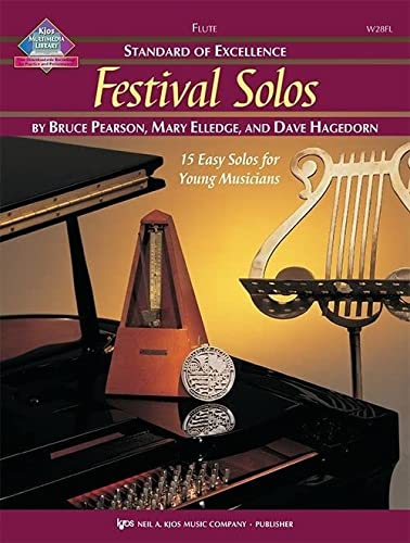 9780849756658: W28FL - Standard of Excellence - Festival Solos Book/CD - Flute
