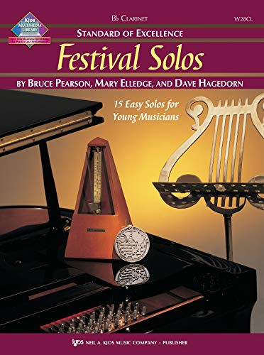 9780849756672: W28CL - Standard of Excellence - Festival Solos Book/CD - Clarinet