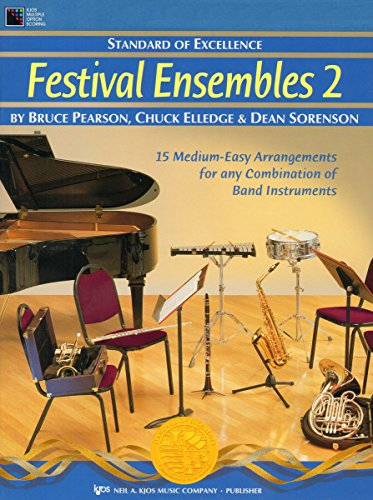 W29PR - Standard of Excellence - Festival Ensembles 2 - Drums, Timpani and Auxiliary Percussion: ...