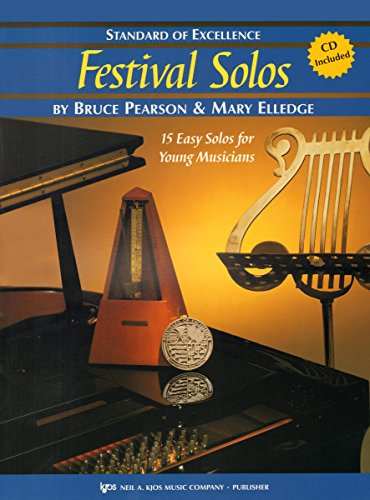 9780849757266: W37FL - Standard of Excellence - Festival Solos Book/CD Book 2 - Flute