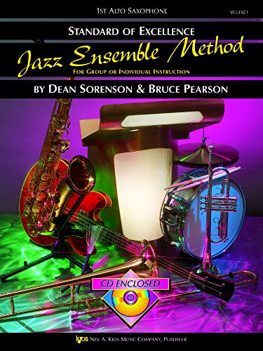 9780849757402: Standard of Excellence Jazz Ensemble Method: For Group or Individual Instruction: 1st Alto Saxophone