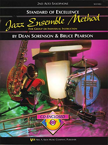 9780849757419: Standard of Excellence Jazz Ensemble Method: For Group or Individual Instruction - 2nd Alto Saxophone