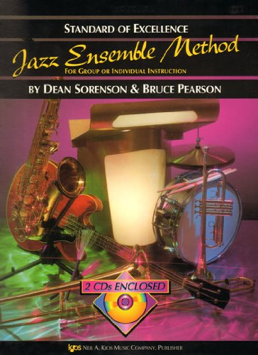 9780849757426: Standard of Excellence Jazz Ensemble Method - 1st Tenor Saxophone